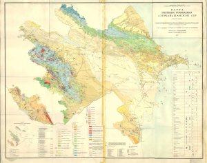 Azerbaycanin faydali qazintilar xeritesi