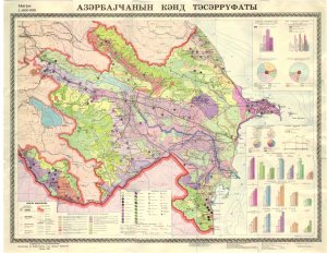 Azerbaycanin kend teserrufati xeritesi