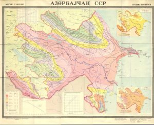 Azerbaycann iqlim xeritesi